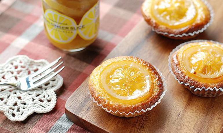 ジンジャーレモンのヨーグルトケーキ