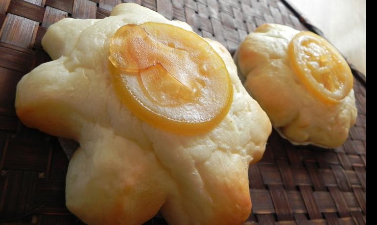 ふんわりレモンジンジャースライスパン1