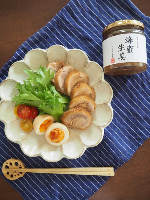 蜂蜜生姜の鶏チャーシュー02