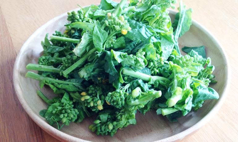 栄養価の高い花野菜・菜の花