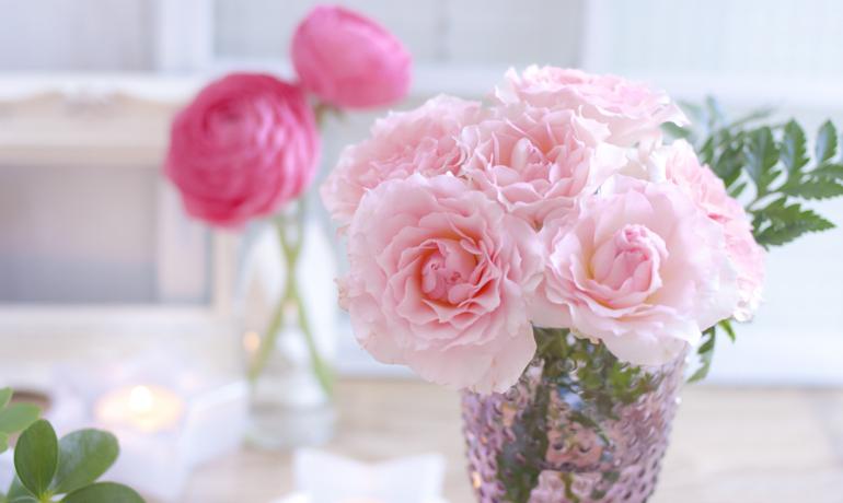 切り花の薔薇を長持ちさせるポイント