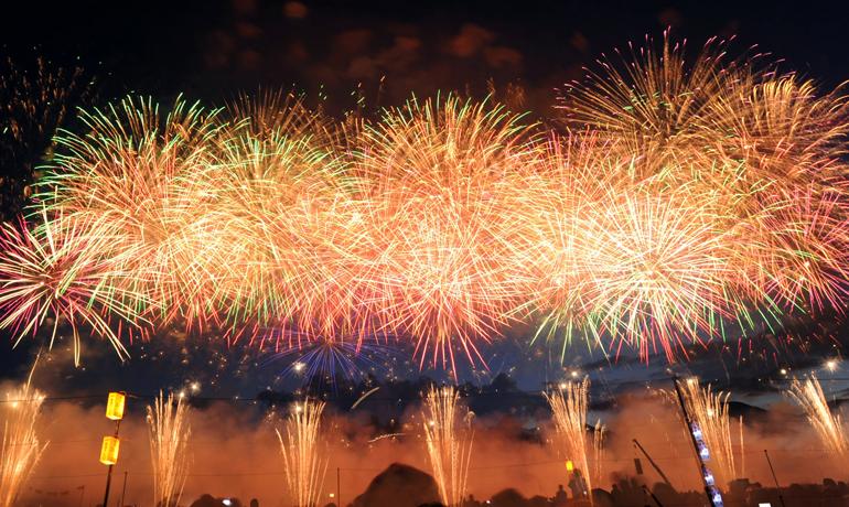 2018年全国花火競技大会in秋田県大仙市が今週末開催!
