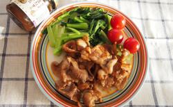 黒酢と玉ねぎのジャムのガッツリ豚肉炒め