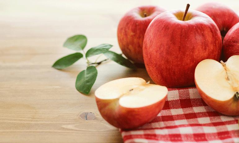 甘みがアップ!リンゴの変色を防ぐ意外な方法