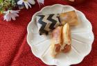 春巻きの皮でりんごコンフィアップルパイ